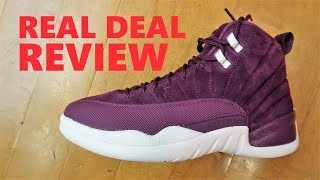 Air Jordan 12 Bordeaux Retro Sneaker Detailed Real Review By Dj Delz