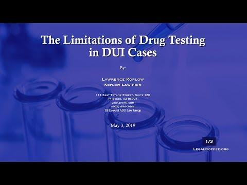 Arizona Drug DUI Cases - Lawrence Koplow Defending Drug DUI
