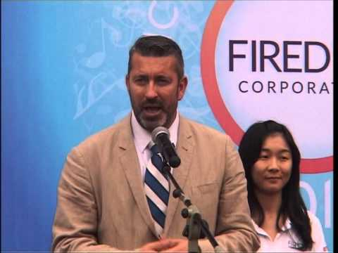 Fired Up 2013 Music and Sport Summer Camp on Guangdong news - China