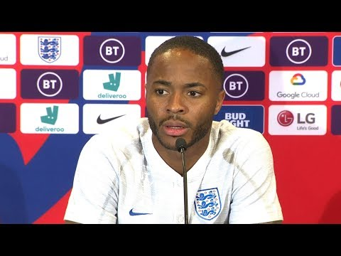 England 5-3 Kosovo - Raheem Sterling Full Post Match Press Conference - Euro 2020 Qualifiers