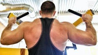 Советы по питанию и тренировка спины. Саша Приходько.
