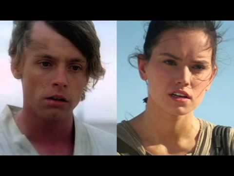 Luke's Force Theme and Rey's Theme together