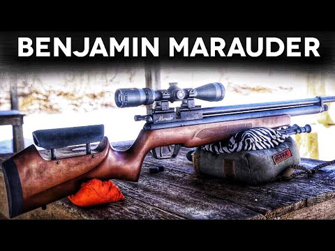 Benjamin Marauder Air Rifle - Custom Shop Edition - #NotAReview!