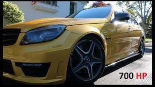 LOUDEST C 63 IN THE WORLD!! 700 HP