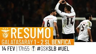 HIGHLIGHTS: Galatasaray 1-2 SL Benfica