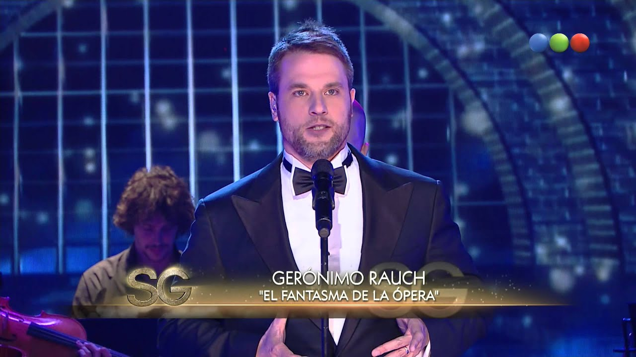 Gerónimo Rauch canta en vivo