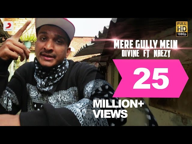 Gully Boy song Mere Gully Mein: The Divine and Naezy track is a