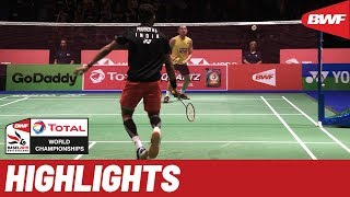 TOTAL BWF World Championships 2019 | Round of 32 MS Highlights | BWF 2019