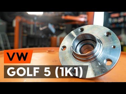 Как заменить подшипник ступицы заднего колеса на VW GOLF 5 (1K1) [ВИДЕОУРОК AUTODOC]