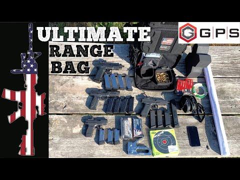 Ultimate Range Bag - GPS Tactical Tall Range Backpack