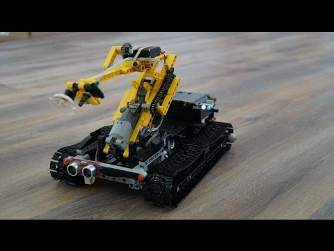 Lego Technic Mine sweeping robot (MOC) - YouTube