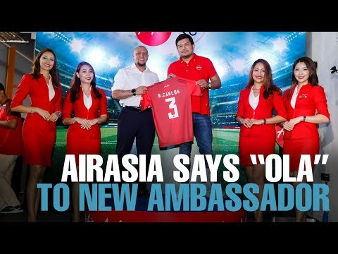 NEWS: Roberto Carlos is AirAsia brand ambassador