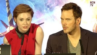Chris Pratt & Karen Gillan Pick Spirit Animals - Guardians of the Galaxy Premiere