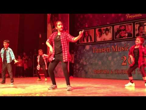 Western Dance Performance during Tansen Dance and Music Festival
