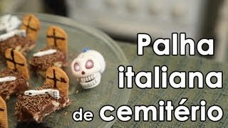Receita de palha italiana de cemitério - How to make Brazilian fudge