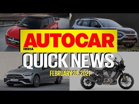 Tata Safari & Maruti Suzuki Swift Facelift Prices and Hyundai Alcazar | Quick News | Autocar India