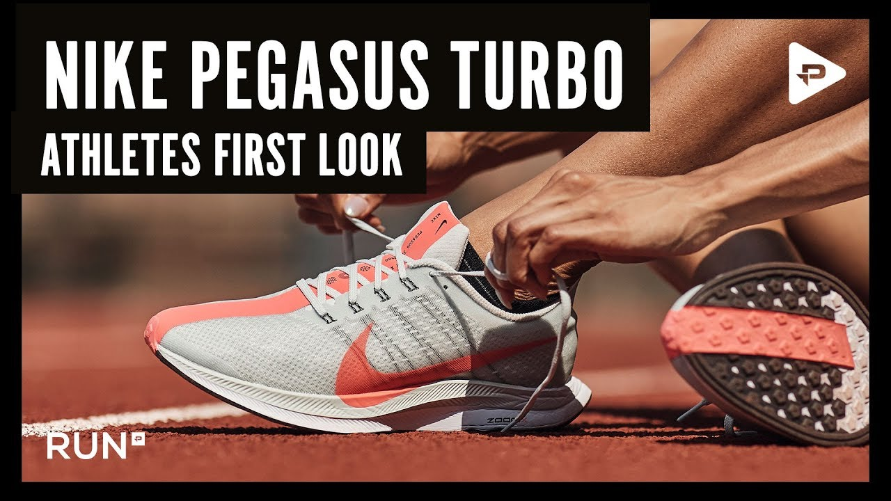 816b802ecfba NIKE ZOOM PEGASUS TURBO – BRITISH ATHLETES FIRST LOOK - YouTube