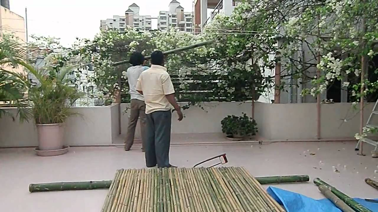 Bangalore Bamboo Fencing Youtube
