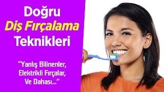 Doğru diş fırçalama teknikleri ve ağız sağlığı