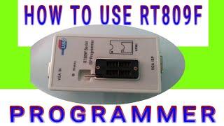 rt809f programmer software update video, rt809f programmer software