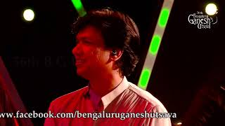 "Cover images Vijay Prakash  singing ""Innum Konja Neram"" at 56th Bengaluru Ganesh Utsava, 2018"