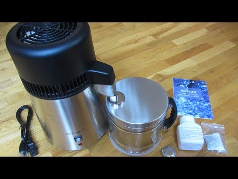 RovSun Water Distiller | Review Detailed Close Up Views