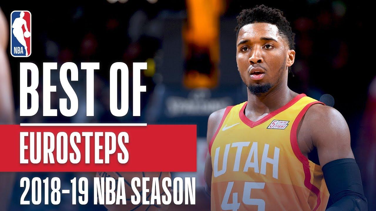 NBA's Best Euro-Steps | 2018-19 NBA Season | #NBAHandlesWeek