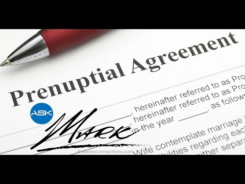 dating prenuptial agreement
