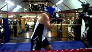 James Mathias Gets His Spar On - Boodles Boxing Ball 2011 3GP