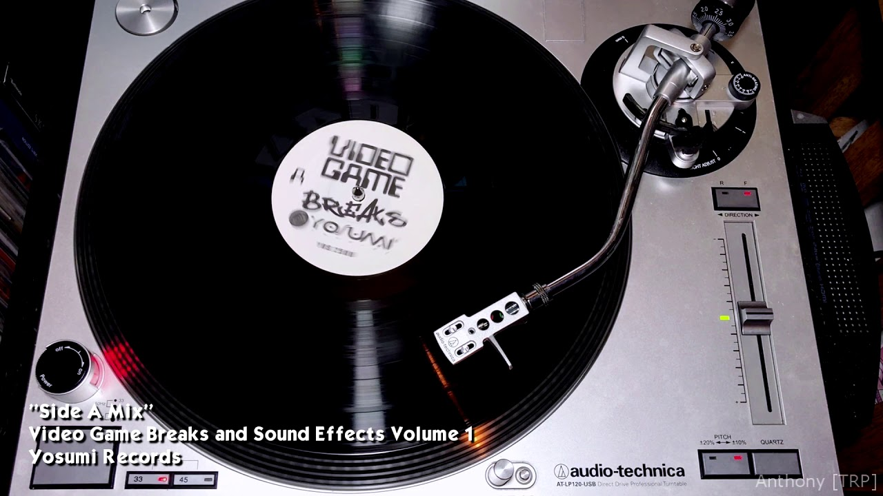 Video Game Breaks And Sound Effects Volume 1 Side A