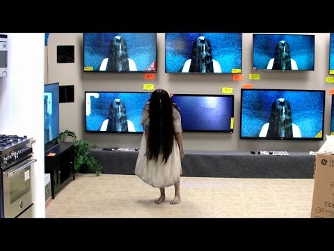 Rings TV Store Prank Video | Samara Is Back