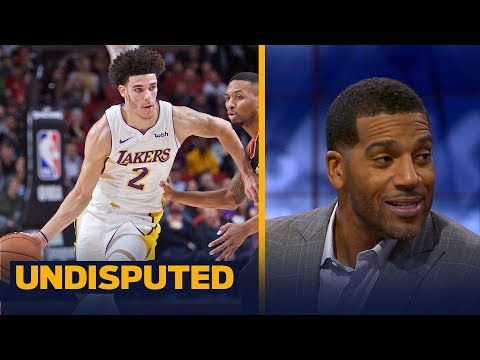 How concerned should the Lakers be with Lonzo Ball's performance against Portland? | UNDISPUTED