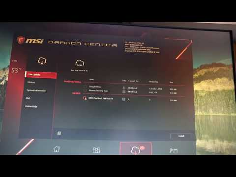 MSI B450 Tomahawk MAX BIOS Flashback FW Update Ver.5