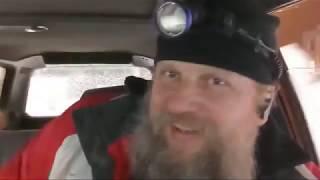 Едем На Бомбе Таскать Машины В Снегопад