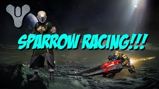 Destiny TTK - SPARROW RACING PATROL ON ALL PLANETS!!!