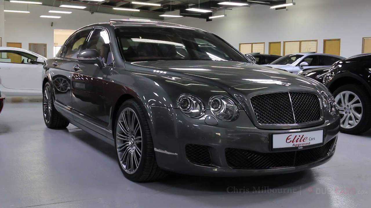 2013 Bentley Continental Flying Spur W12 Youtube