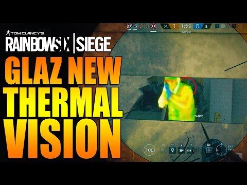 Rainbow Six Siege - In Depth: GLAZ NEW THERMAL SCOPE