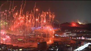 Début de la cérémonie des JO 2018 de Pyeongchang
