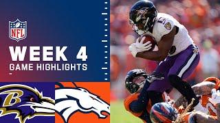 Ravens vs. Broncos Week 4 Highlights | NFL 2021