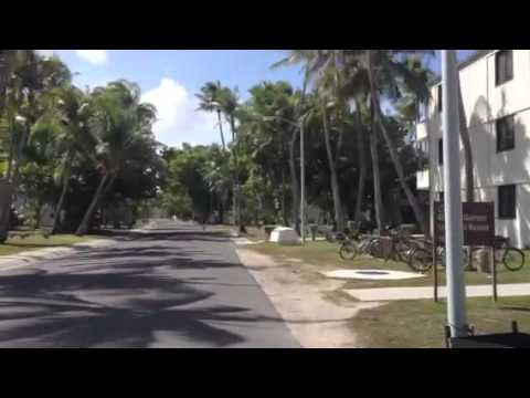 Housing on island