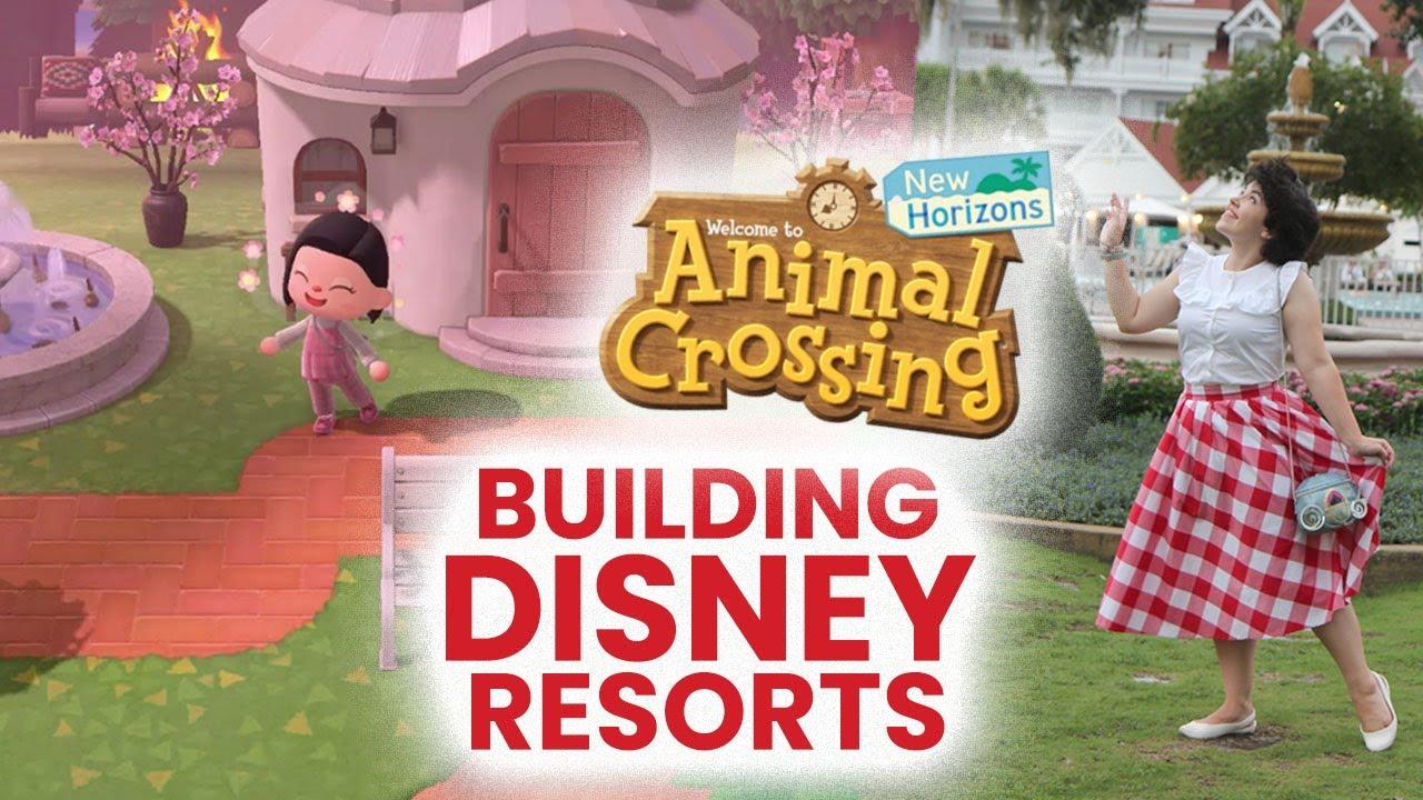 Building Disney Resorts In Animal