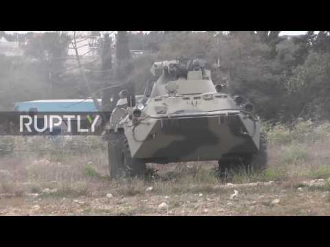 Russia: Black Sea Fleet Marines test new equipment before possible Syria deployment