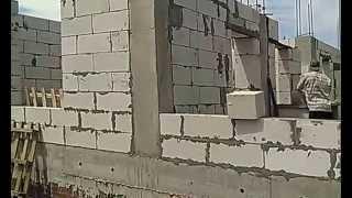 видео Железобетонные каркасы стен