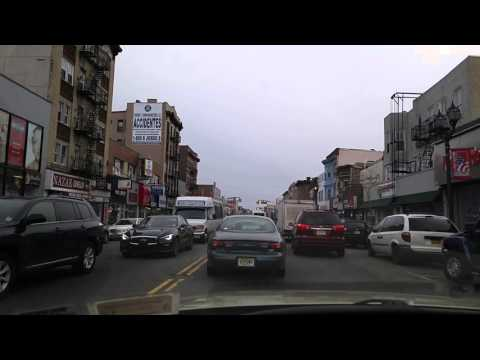 Driving by West New York,New Jersey