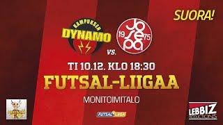 10.12.2019 KaDy - JoSePa klo 18.30 Futsal-Liiga