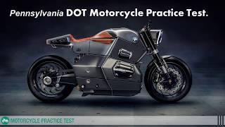 Pennsylvania dmv motorcycle permit practice test