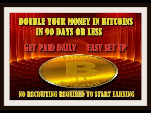 Earn bitcoins through trading