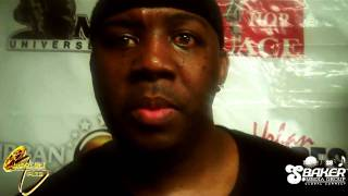 ERIC SERMON (EPMD) CHOP IT UP WITH MECCAGLOBAL @ 8TH ANNUAL UMA's 2010 (HONOREE)