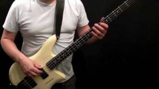 How To Play Bass Guitar to She's Not There - Part 1- Santana