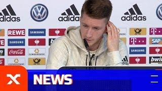 Marco Reus über Pfiffe, Rassismus und das FCB-Duell | Niederlande - Deutschland | SPOX
